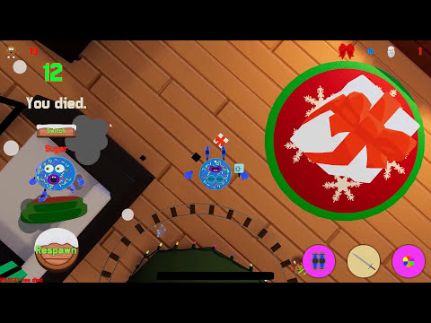SANTA IS TRYING TO EAT US!!! - Cookies vs. Claus Funny Moments! (Fun Christmas Game!) Screenshot 4