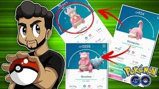 Slowking  - (Pokémon) - EVOLUINDO SLOWPOKE PARA SLOWKING (KING'S ROCK) - POKÉMON GO