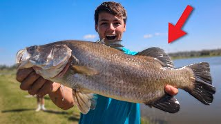 My NEW RIVER MONSTER for POND?! *crazy*