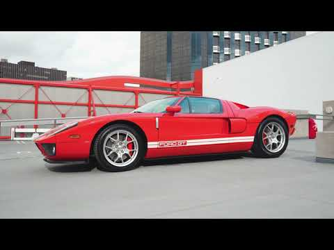 Win This 2005 Ford GT, the Ultimate Cars and Coffee Ride // Omaze
