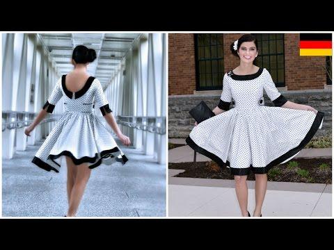50 iger Jahre Kleid selber nähen - Vivienne Schnittmuster