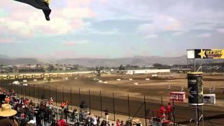 Lucas Oil Estero Beach Crash Sheldon Creed