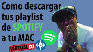 Tutorial  Musica De Spotify En Mac