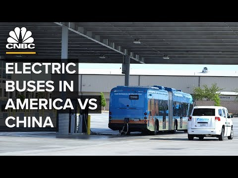 Why The US Trails China In Electric Buses