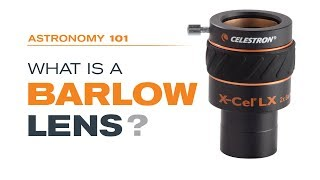 "Celestron X-Cel LX 2X Barlow Lens - 1.25"" - 93529"
