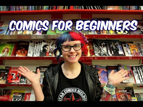 Comic Books For Beginners