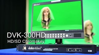 DVK-300HD HDSD Chromakey - Live HD chromakey and luma key solution