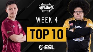 Rainbow Six Pro League Saison X - Top 10 Week 4