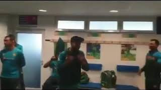 Pakistan dressing room after win the match from Afghanistan | icc cricket world cup 2019