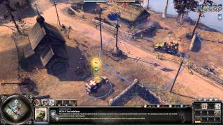 Company of Heroes 2 Gameplay: United States is the Super Power | 2v2 AT on Semoskiy