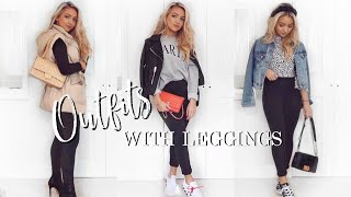 OUTFITS WITH LEGGINGS! / Outfit Ideas 2020!