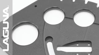 Smartshop® II CNC Router Cuts Marine Quality Plastic Starboard Demo - Laguna Tools