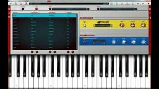 пример записи миди клавиатуры в nano studio v1.42 для win 7