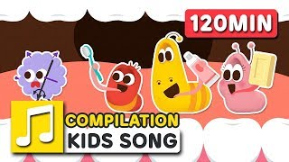 LARVA KIDS SONG COMPILATION | 120MIN | LARVA KIDS | SUPER BEST SONGS FOR KIDS