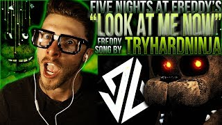 "Vapor Reacts #401 | *NEW* [FNAF SFM] FNAF FREDDY SONG ""Look at Me Now"" by TryHardNinja REACTION!!"