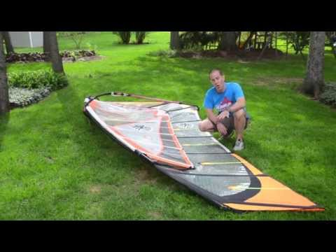 Windsurfing Sail Overview