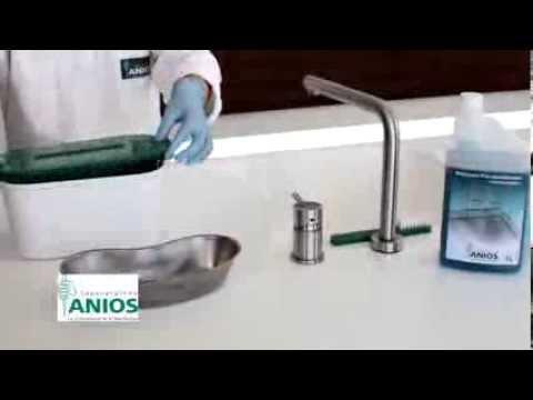 Nettoyage et pré désinfection de l'instrumentation