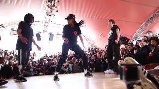 Juste Debout Paris 2016   Hip Hop   SIGH Vs Rusya & Oomoo    Top 32 Battles