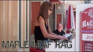 Maple Leaf Rag - Ragtime Piano At Disneyland