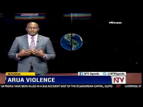 Maurice Mugisha explains how the violence in Arua unfolded