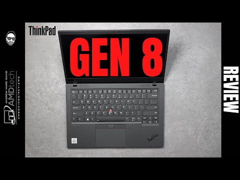 External Review Video 5whzbE3o2uY for Lenovo ThinkPad X1 Carbon Gen 8 Laptop