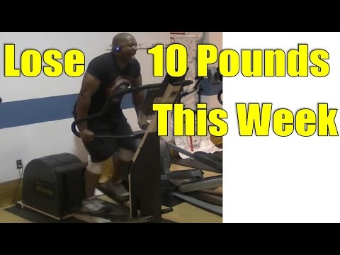 To Lose 10 Pounds In A WEEK = Do This Elliptical Workout Mp3