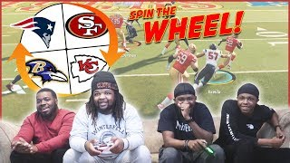 Playoffs Spin The Wheel Tournament! Who's The Best Madden Player In The Fam?