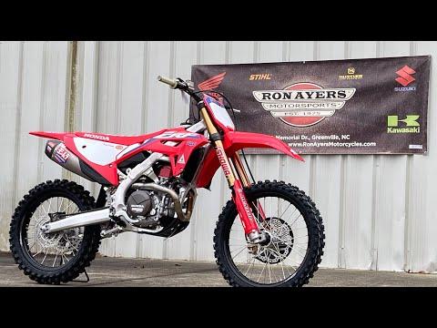 2021 Honda CRF450RWE in Greenville, North Carolina - Video 1