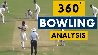 Shiva Singh's Switch Bowling Action(360-degree delivery ) Analysis |  Analysis Series
