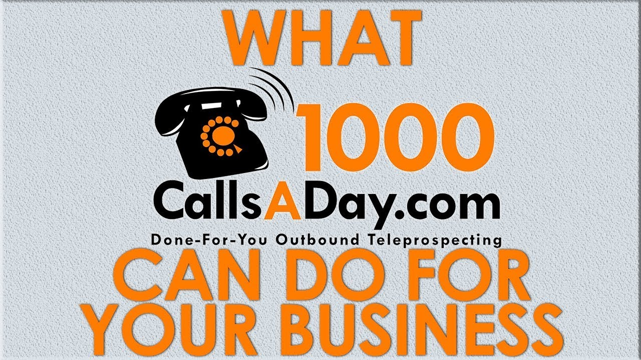 1000 Calls A Day: How Advanced Analytic & Data Tracking Gets More Leads