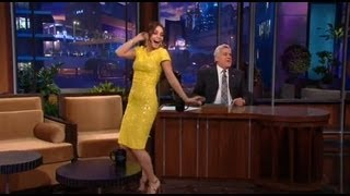 Vanessa Hudgens Dancing on Leno!