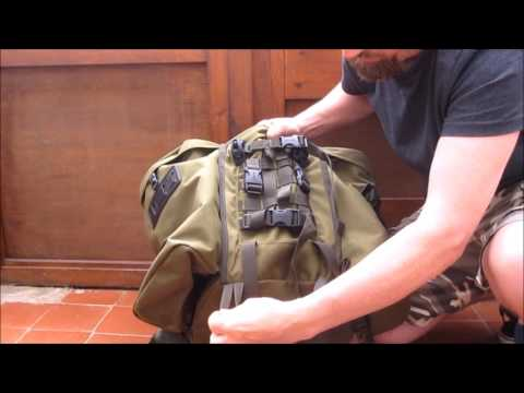 Berghaus centurio 45 rucksack with optional side pockets review