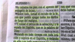 La armadura de Dios (Efesios 6:10-20)