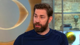 John Krasinski on hating horror movies, why he made