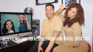 Becky G, Maluma   La Respuesta (Official Video)  (reaction)
