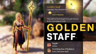 The Golden Staff