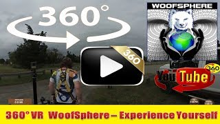 360 Videos |WooFDriving The Sandy Hook Multi-Use Pathway | Virtual Reality | Woofsphere