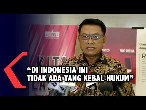 moeldoko di indonesia ini tidak ada yang kebal hukum