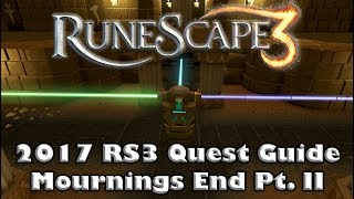 RS3 Quest Guide - Mournings End Part 2 - How To Complete The Light Puzzle - 2017