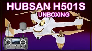 """UNBOXING HUBSAN H501S X4 ADVANCED """"GEARBEST"""""""