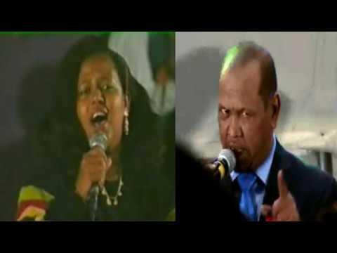 Xasan Aadan & Sahra Dawo Heesta Wallee Gabdho Aan Arkiyo Gayaankoodaan Heshiin With Lyrics