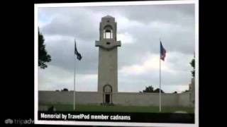 preview picture of video 'Australian War Memorial Cadnams's photos around Villers-Bretonneux, France (travel pics)'