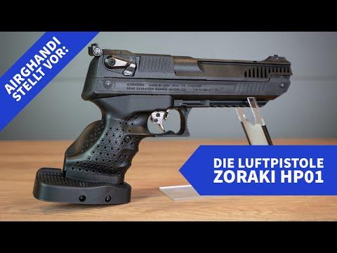 airghandi: AirGhandi Review und Video: Was bietet die preisgünstige Vorkomprimierer-Luftpistole Zoraki HP01?