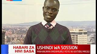 Mahakama yaamuru Sossion ni katibu mkuu wa KNUT