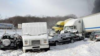 ДЕНЬ ЖЕСТЯНЩИКА. Аварии Январь - Compilation of accidents January