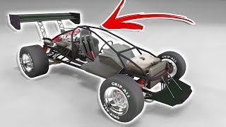 Is this the ULTIMATE Race Car?! AWESOME CRASHES! - BeamNG Drive Bolide Track Toy Car Mod
