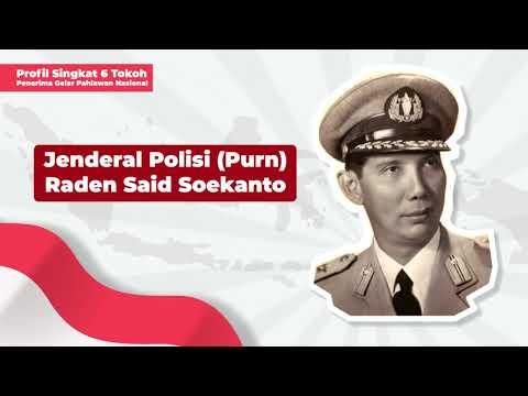 Profil Penerima Gelar Pahlawan Nasional: Jenderal Polisi Purn Raden Said Soekanto