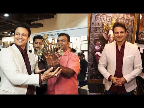 Vivek Oberoi Gives GYAAN About Importance Of Art In One's Life At The Launch Of Mumbai Art Fair