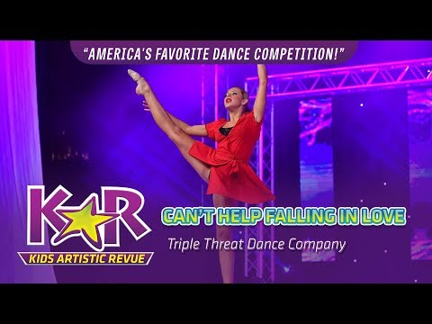 """""""Can't Help Falling In Love"""" from Triple Threat Dance Company"""