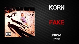Korn - Fake [Lyrics Video]